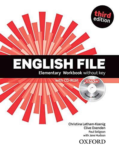 English File third edition: English File 3rd Edition Elementary. Workbook without Key and iChecker