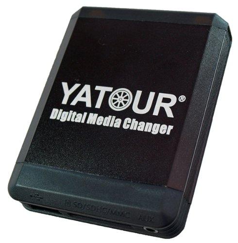 Yatour YT-M07-FRD2 Musikadapter USB SD kompatibel mit iPhone, iPod iPad AUX Adapter für Ford 5000C, 6000CD, 6006CDC auto