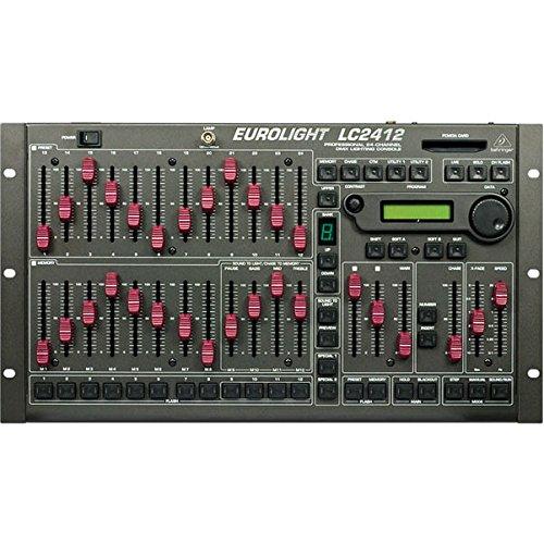 BEHRINGER LC2412 CONTROLADOR DJ   CONTROLADORES DJ (CORRIENTE ALTERNA  120/230V  1A  44 2 CM  27 8 CM  10 6 CM) NEGRO