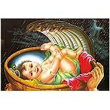 Bal Krishna Poster For Room | Krishna Poster | Janmashtami Poster | Festival Poster | Religious Poster