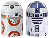 Underground Toys- Tarros de Cocina R2-D2 y BB8, Color Blanco, Naranja y Azul, 20x9x14 cm (SW03539)