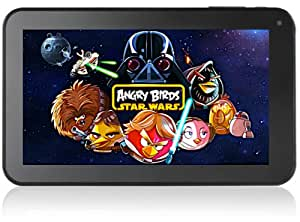 """TABTRONICS NEW M009S F1 NOW DUAL CORE 8GB 7"""" Capacitive Android tablet PC - Android 4.2.2 JELLY BEAN now with DOUBLE system ram (1GB) for ULTIMATE PERFORMANCE Dual Cameras HDMI"""