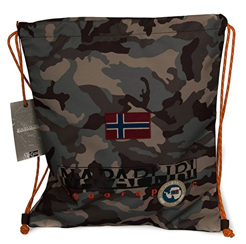 Napapijri Gym Backpack North Cape, Zainetto moda Ragazzo/a (Camouflage)