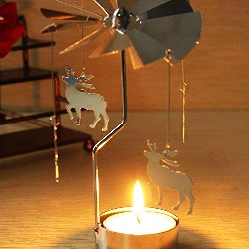 ESST drehbarer Kerzenständer für Teelichter, drehbar