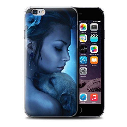Officiel Elena Dudina Coque / Etui pour Apple iPhone 6+/Plus 5.5 / Koalas/Escalade d'Arbres Design / Les Animaux Collection Le Calin/Chiot/Chien