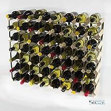 Classic pineta 56 bottiglia di vino e metallo zincato cremagliera già assemblate