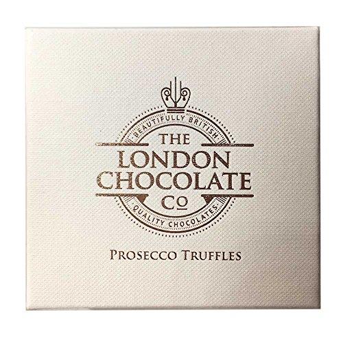 Luxury Prosecco Chocolate Truffles - 4 Chocolates Gift Boxed