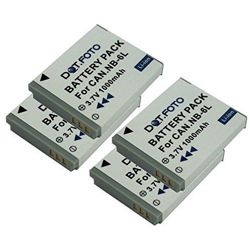 4-x-dotfoto-batterie-de-qualit-pour-canon-nb-6l-nb-6lh-37v-1000mah-garantie-de-2-ans-canon-digital-i