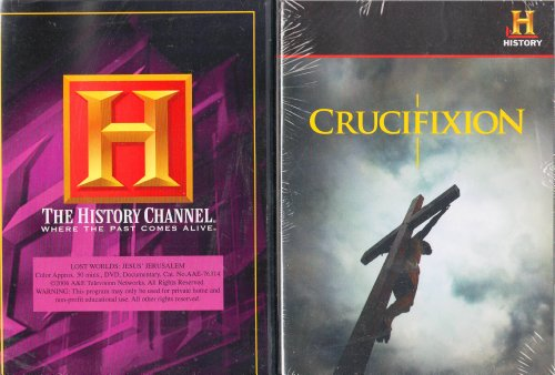 The History Channel : Lost Worlds : Jesus' Jerusalem , Crucifixion : How Jesus Died : Christianty 2 Pack