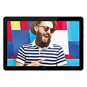 HUAWEI MediaPad T5 - 10.1 Inch Android 8.0 Tablet, 1080P Full HD Display, Kirin 695 Octa-Core Processor, RAM 4GB, ROM 64GB, Dual Stereo Speakers, 5100mAh Large Battery, Black