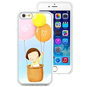 6 Phone cases, Baby Balloons Flying Sky Clouds White iPhone 6 4.7 inch TPU cell phone case