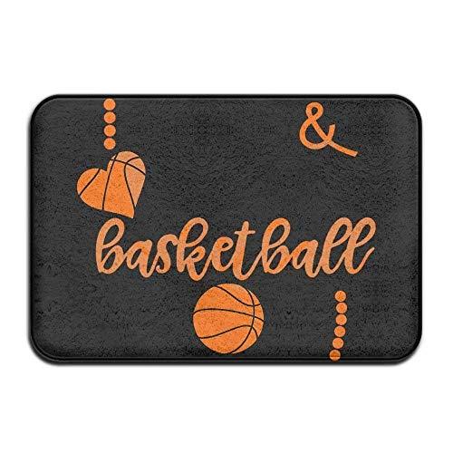 zsxaaasdf Home Fußmatte My Basketball DNA Fußmatte Fußmatten Eingangs Teppiche Anti Slip 40x60 für Indoor Outdoor -