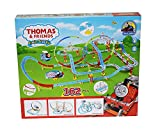 #5: Kidsgenie Thomas And Friends Super Train Track Series With Sound Lights (162Pcs)