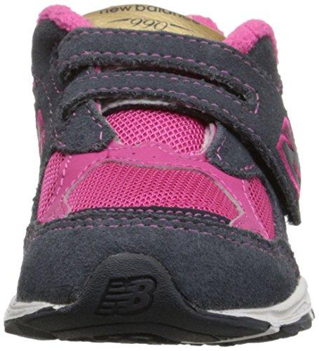 New Balance KV990I Running Shoe (Infant/Toddler) Pink/Grey