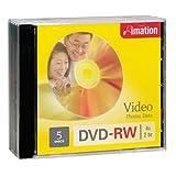 Imation - 1 x DVD-RW - 4.7 GB 4X - Jewel case - Storage Media