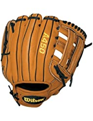 Wilson A450 Series Gant de baseball pour gaucher Marron