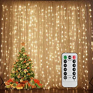 100 luces de hadas del racimo del LED, petardos Starry String Light Wedding Party Home Garden Dormitorio Exterior Interior USB alimentado