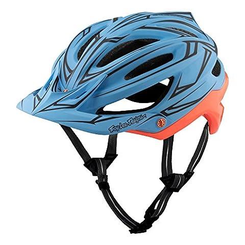 Troy Lee Designs Enduro-MTB Helm A2 Blau Gr. M/L