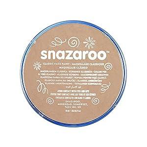Snazaroo - Pintura facial y corporal, 18 ml, color beige pálido