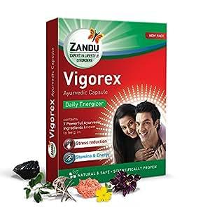 Zandu Vigorex Ayurvedic Daily Energizer - 10 capsules