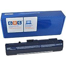GRS bateria 6600mAh para Acer Aspire One 571, Aspire One A110, A150, D150 KAV10, D250, Aspire One Pro 531, Aspire one ZG5, compatible con UM08A52, UM08A31, UM08A32, UM08A51, UM08A71, UM08A72, UM08A73, UM08A74, UM08B31, UM08B32, UM08B52, UM08B64, UM08B71, UM08B72, UM08B73, UM08B74, LC.BTP00.017, LC.BTP00.018, LC.BTP00.043, LC.BTP00.046,Para portátil con 6600 mAh/73Wh, 11,1V