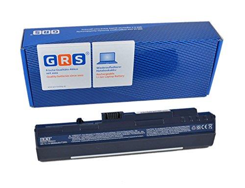 GRS Batterie d'Ordinateur Portable avec 6600 mAh pour Acer Aspire One, 11,1 V