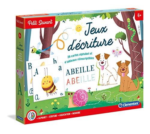 Clementoni - Giochi Di Scrittura - Da 5 A 7 Anni, in Francese