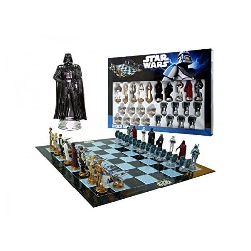 Unitedlabels-0805343-Chess-Game-Schachspiel-Star-Wars
