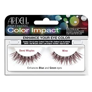 Ardell Color Impact Lashes, Demi Wispies Wine by Ardell