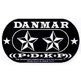 Danmar DA 210DKST Kickpad für Doppel-Bassdrum Stern-Design