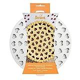 Decora 0215801 Griglia Tagliapasta per Crostate Cuori, Bianco