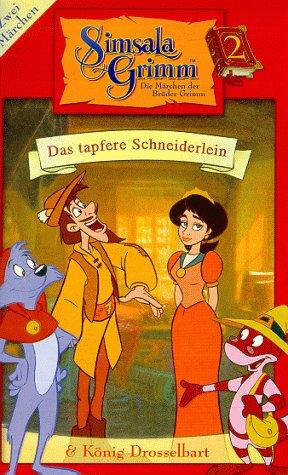 SimsalaGrimm 02: Das tapfere Schneiderlein/König Drosselbart [VHS]
