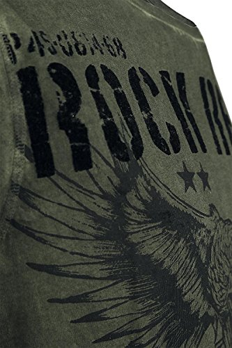 Rock Rebel by EMP Lost Soul T-Shirt verde oliva Verde oliva