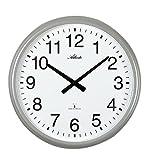 XXL Funkwanduhr Metall 43 cm für Innen und Außen - Atlanta 4449
