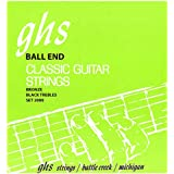 GHS Strings 2000 Ball End Regular, Classical Guitar Strings, High Tension, Phosphor Basses (.028-.043)