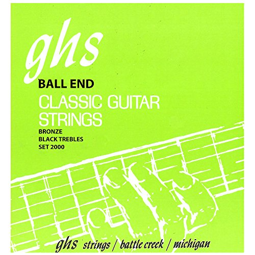 ghs 2000 Classic Guitar Ball End String Regular Phosphor Bronze Bass