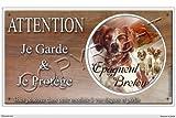 Pets-Easy.com Panneau Chien ou Placa Epagneul-Breton