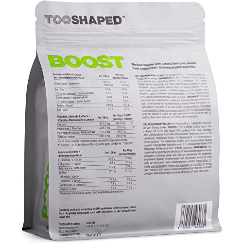 BOOST – Pre Workout Booster - 2