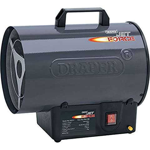 Draper Tools 32217 Jet Force Propane Space Heater