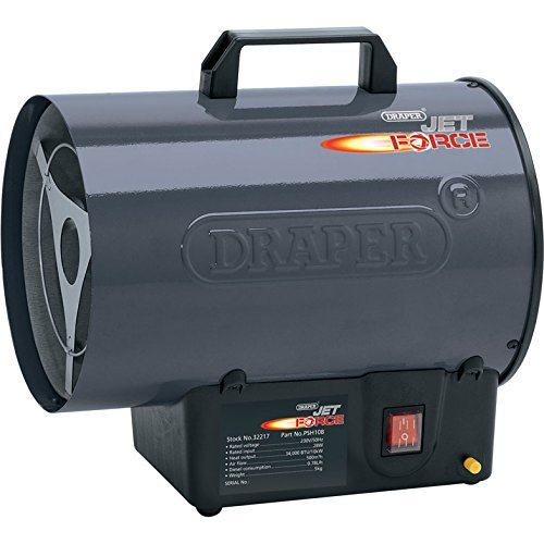 Draper Tools 32217 Jet Force Propane Space Heater