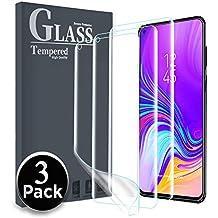 Ferilinso Protector de Pantalla para Samsung Galaxy A9 Pro 2019, [3 Pack] [