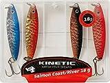 Kinetic Küstenblinker SalmonCoast-Set 4 Blinker 18g Meerforelle