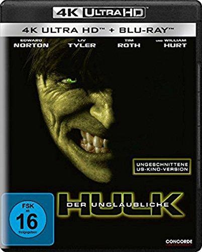 Der unglaubliche Hulk (4K Ultra HD) (+ Blu-ray)