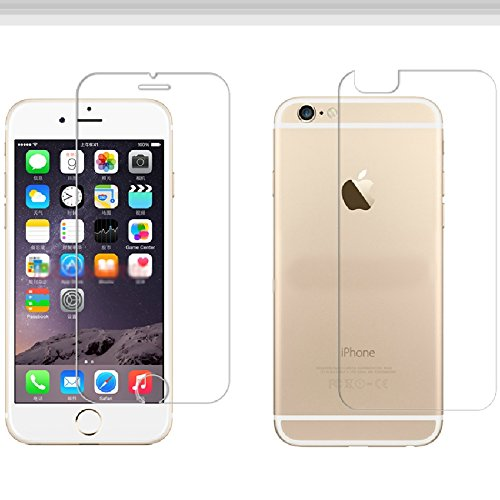 Apple iPhone 6 Front and Back Premium Quality Tempered Glass BY RSC POWER+  available at amazon for Rs.119