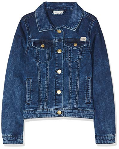 NAME IT Mädchen Jacke NKFTAMARIA DNM Jacket 3082, Blau Dark Blue Denim, 116