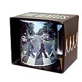 The Beatles - Rock Band Tasse Geschenktasse (Abbey Road)...toll und stabil verpackt in einer Geschenkbox!