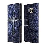 Officiel Brigid Ashwood Gothique Croix Étui Coque De Livre En Cuir Pour Samsung Galaxy S7 edge