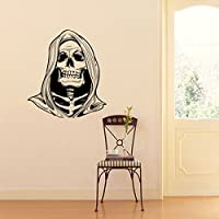 Mitlfuny Halloween Skeleton Background Decorated Living Room Bedroom Wall Stickers