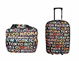 Ensemble de bagages valise et vanity DAVID JONES BA-4008-2