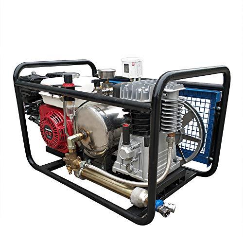 HPDAVV Compresseur d'air pour troisième poumon, compresseur de plongée à narguilé avec Tuyau et respirateur, réservoir de gaz, vidéo de Fonctionnement